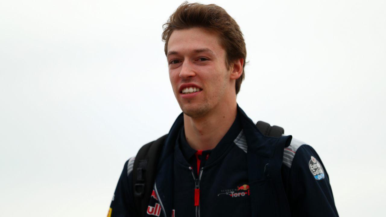 Daniil Kvyat, piloto de Toro Rosso F1