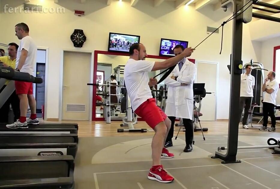 entrenamiento-Scuderia-Ferrari