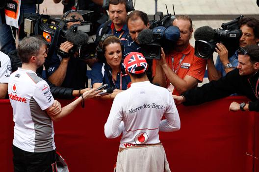 Hamilton - McLaren - TV