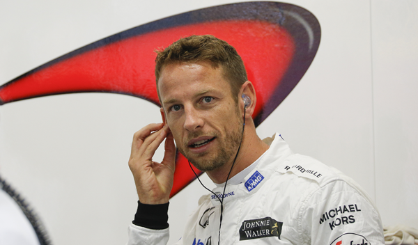 Jenson Button cumple 300 carreras en la F1 en Malasia