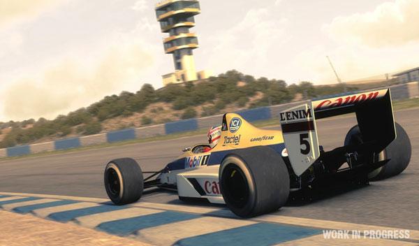 Juego F1 2013 Nigel Mansell Williams Circuito Jerez