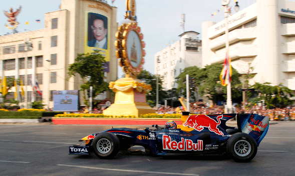 Mark Webber - Red Bull - Bangkok