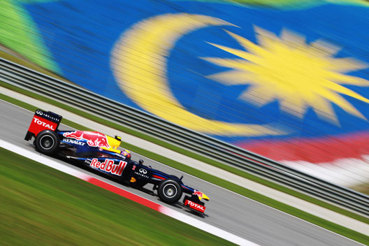 Mark Webber Red Bull Malasia