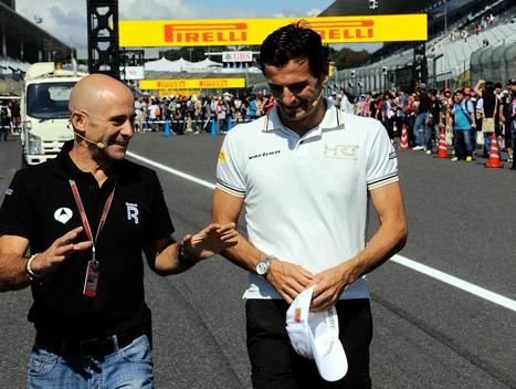 Pedro de la Rosa - Antonio Lobato - GP Japón 2012