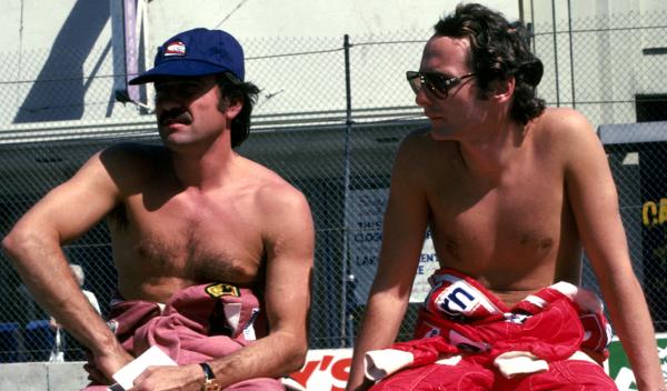 Regazzoni Lauda