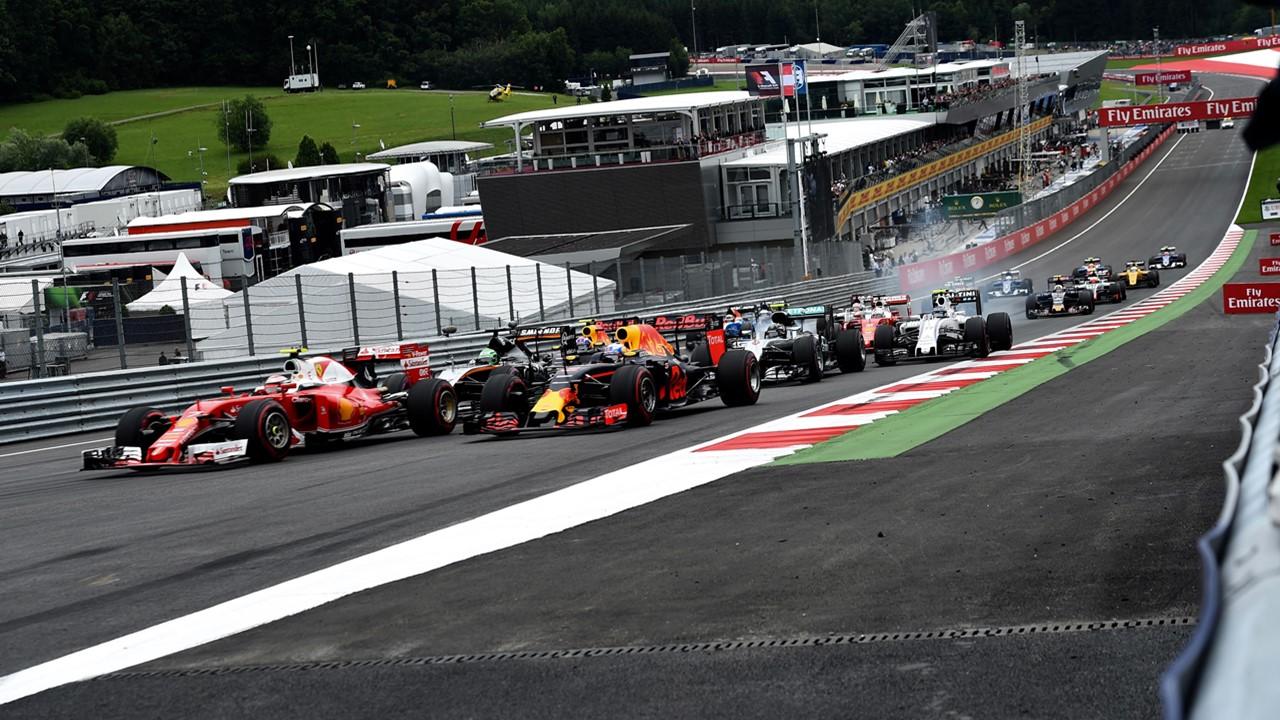 Circuito Formula 1 Austria : Fórmula horarios del gran premio de austria f