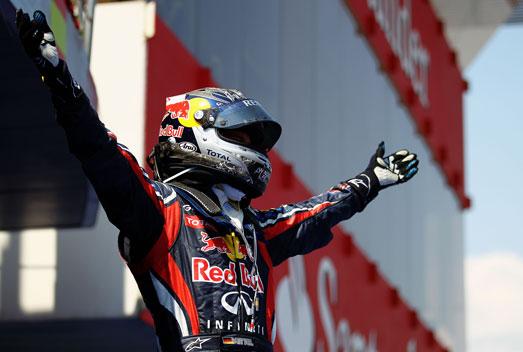 Vettel - Red Bull - Barcelona - 2011