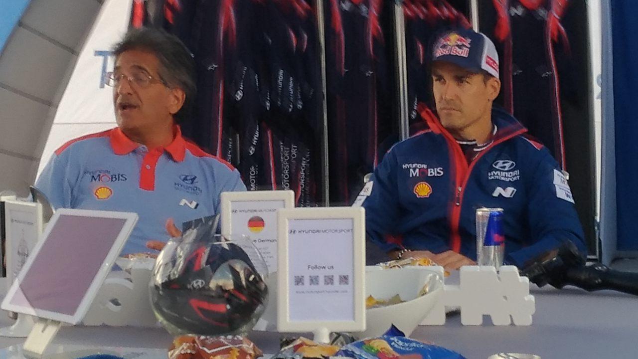 Michel Nadan y Dani Sordo