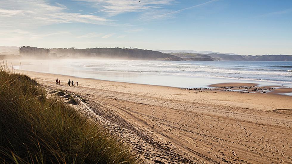 Playa Espartal Asturias