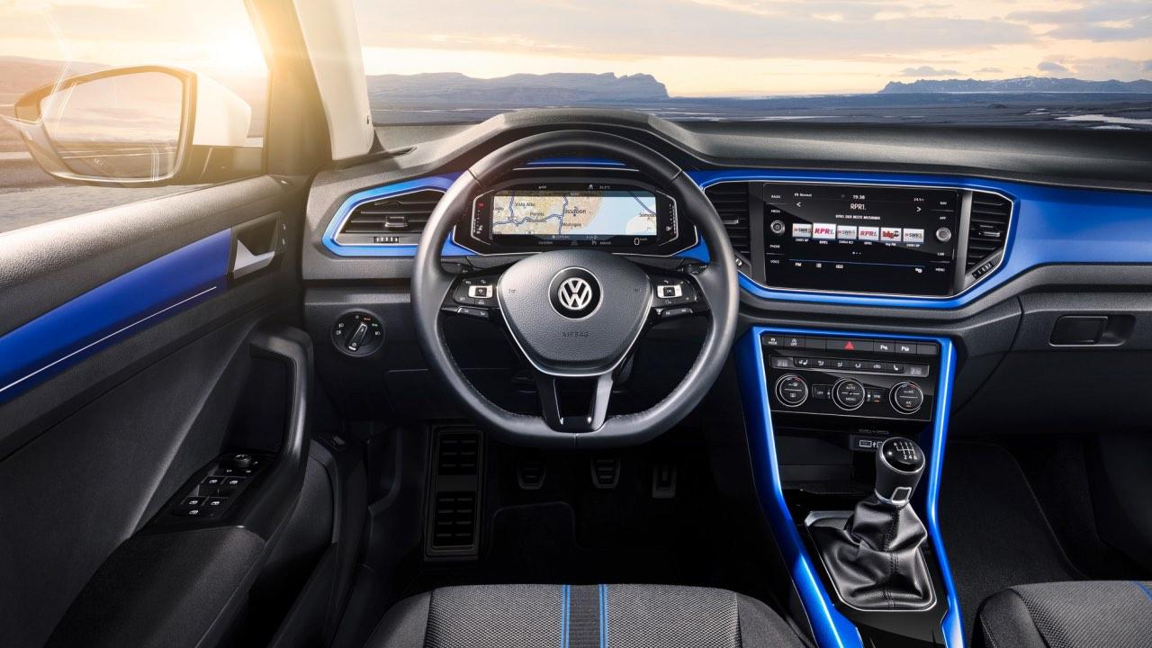 Volkswagen T-Roc salpicadero