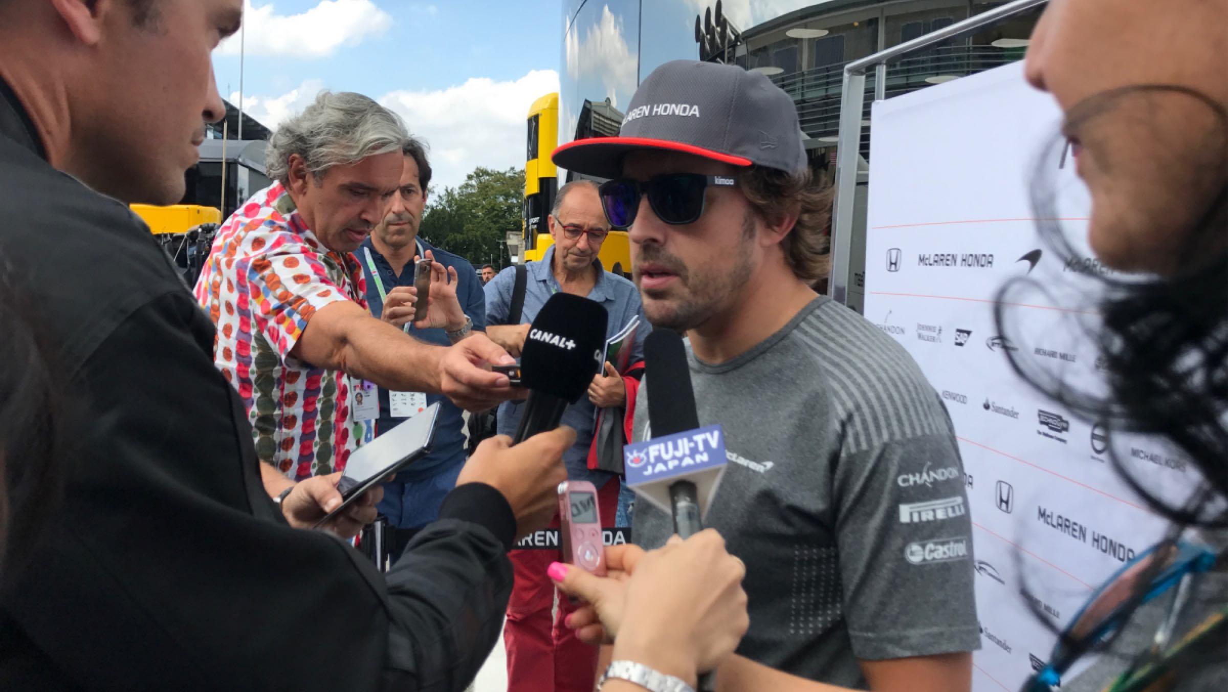 GP Italia 2017 - Alonso