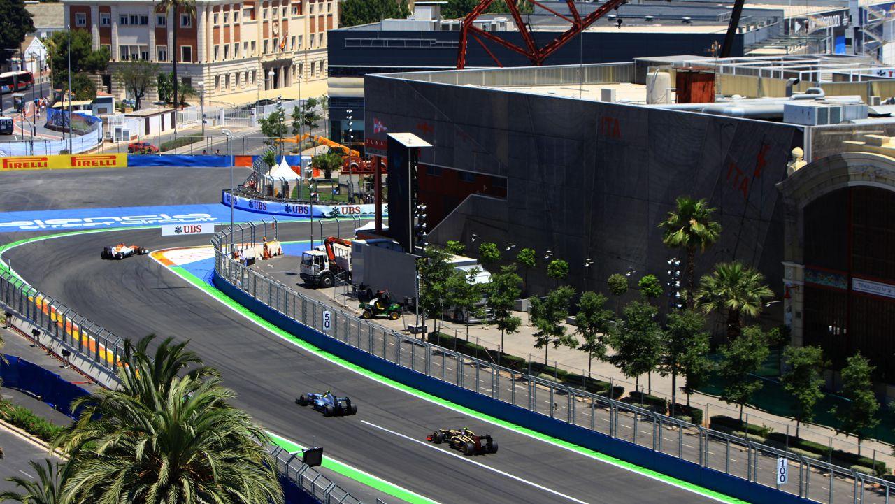 Circuito Urbano Valencia : Salen a subasta los boxes del gp de valencia de fórmula f