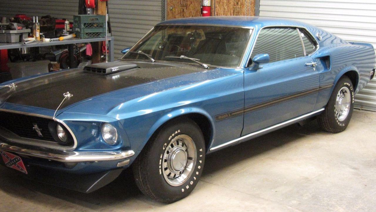 Este ford mustang mach 1 de 1969 se vende en ebay autobild es