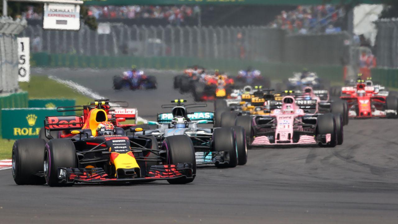 Victoria de Max Verstappen en el GP México 2017