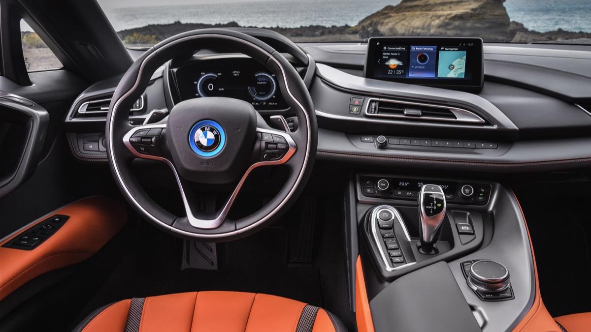 BMW i8 descapotable