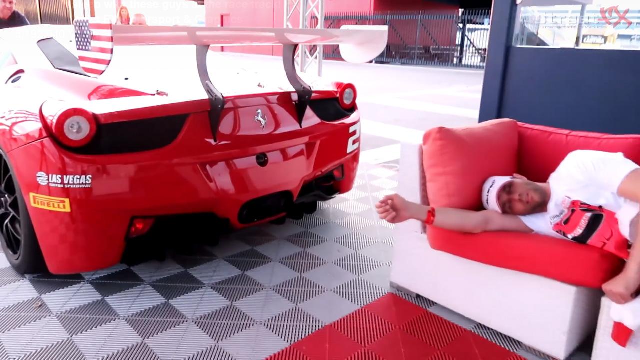 El Peor Despertador Del Mundo Este Ferrari 458 Gt3 Autobild Es