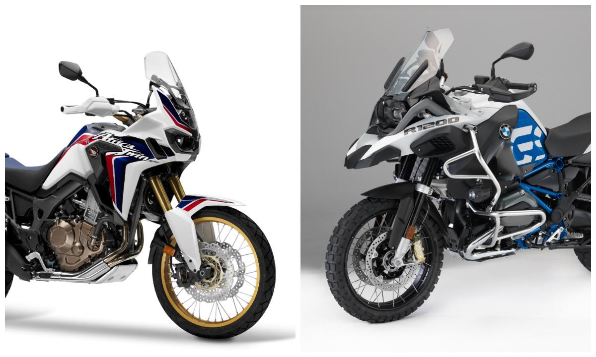 cu l es mejor la honda africa twin o la bmw r 1200 gs motos. Black Bedroom Furniture Sets. Home Design Ideas