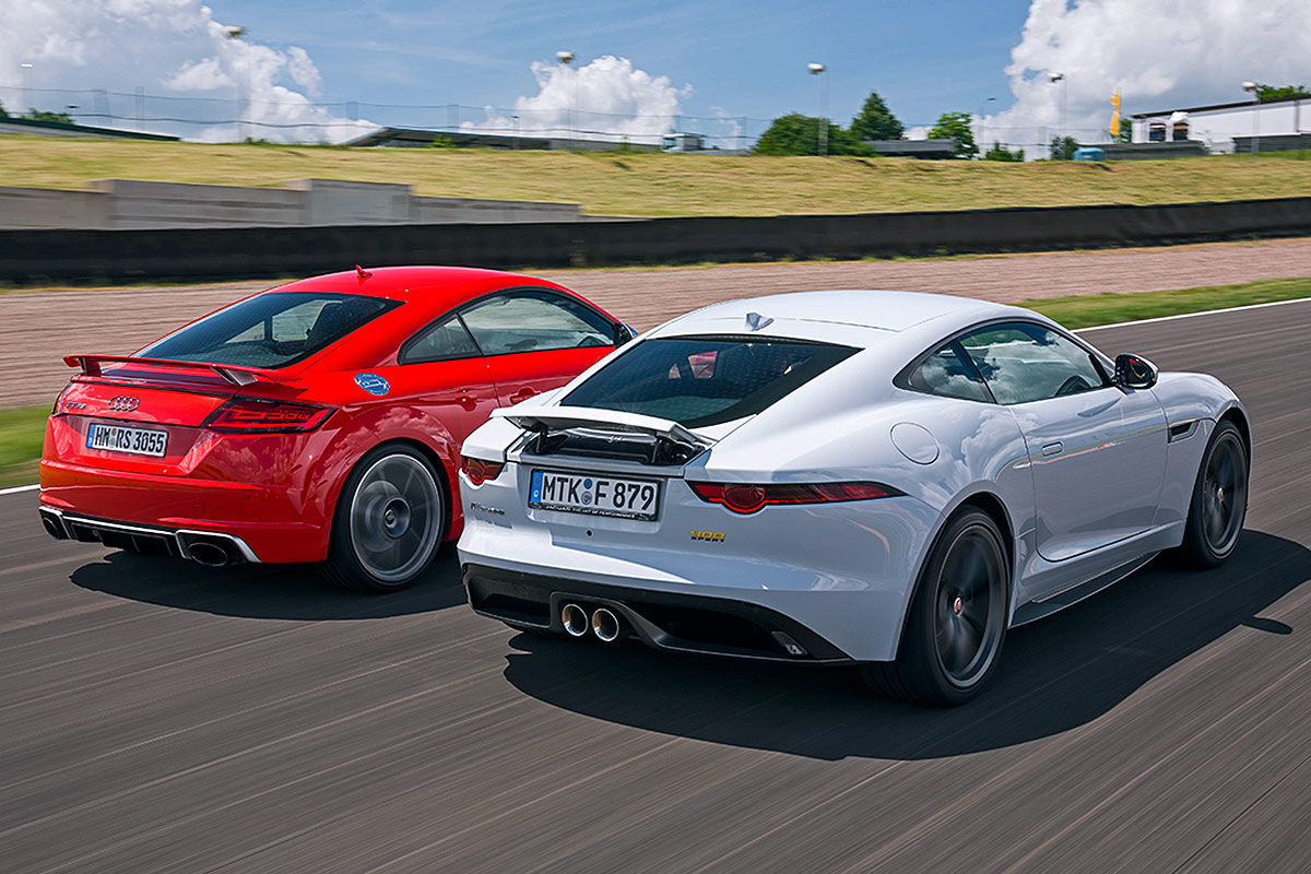 Jaguar F-Type vs Audi TT RS