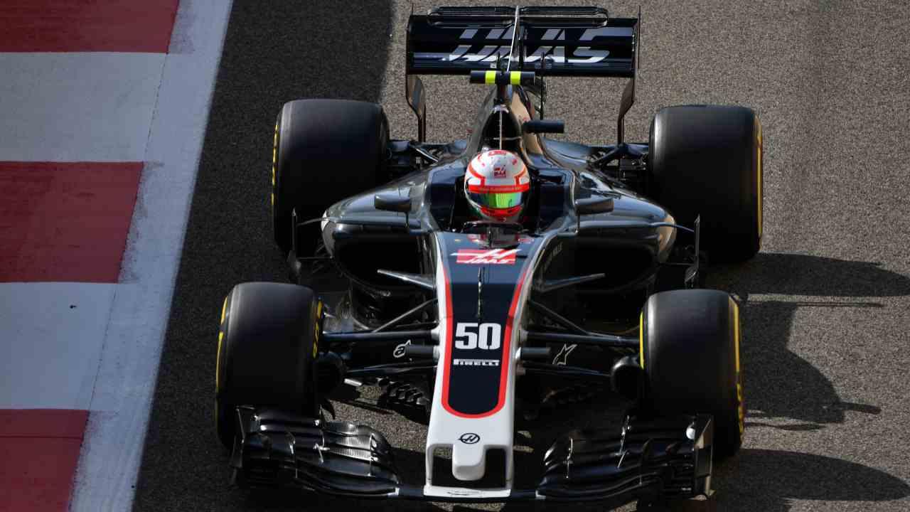 Antonio Giovinazzi test Haas
