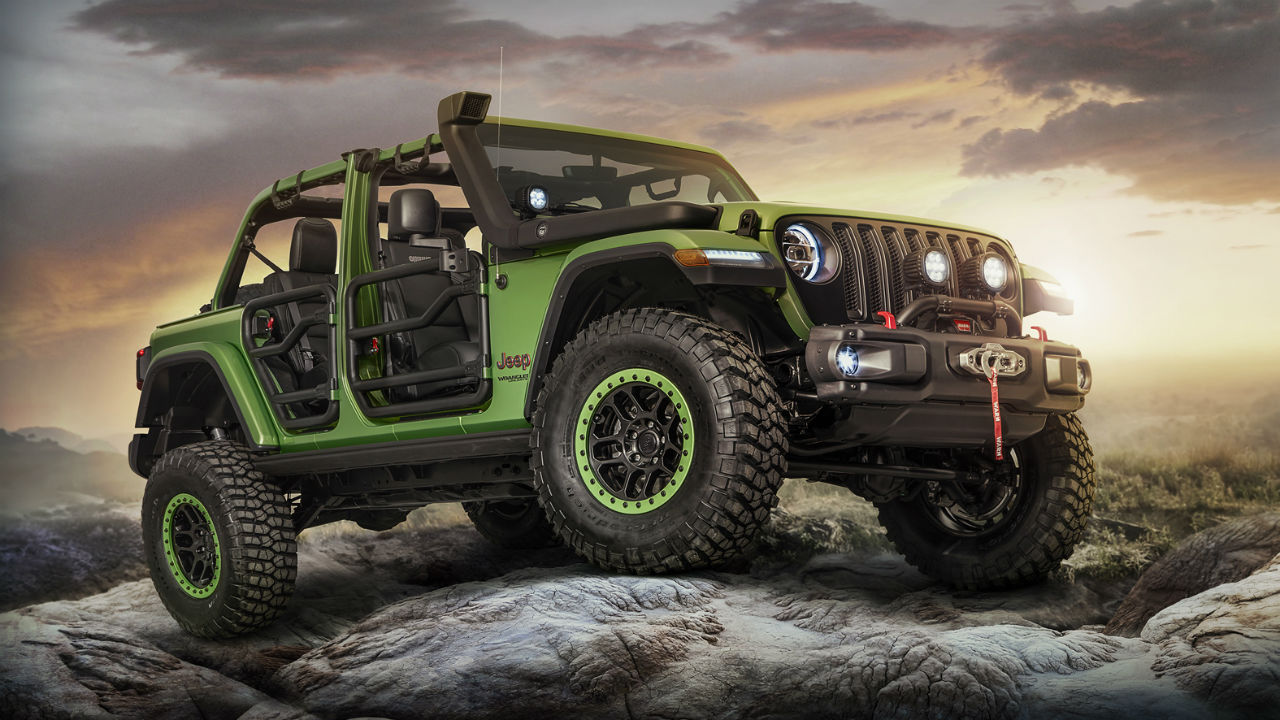 200 Accesorios Mopar Para Personalizar El Nuevo Jeep