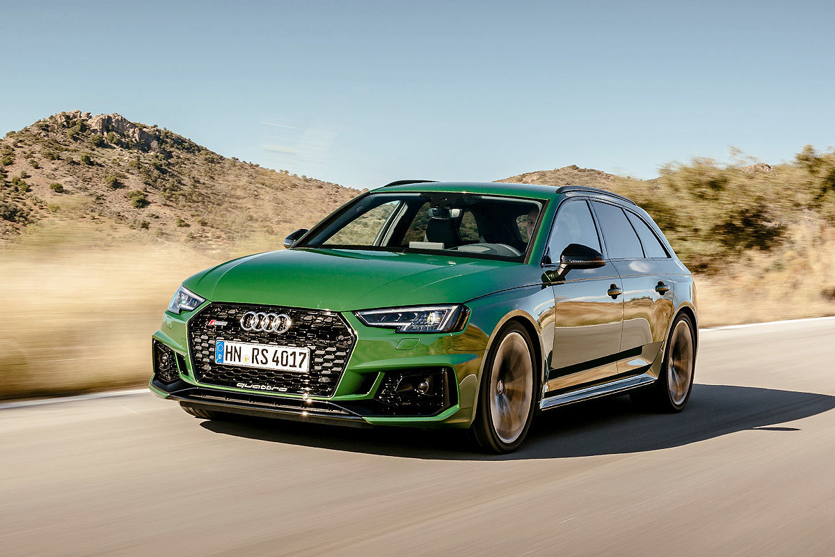 V 205 Deo Prueba Audi Rs4 2018 Todo Su Poder Al Detalle