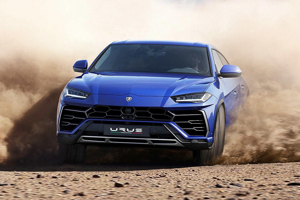 Prueba del Lamborghini Urus
