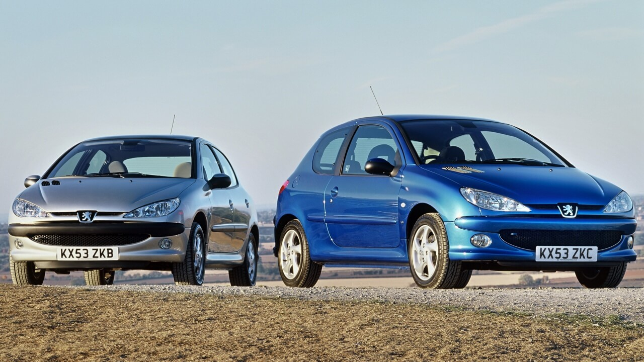 Evolución Peugeot 206-208