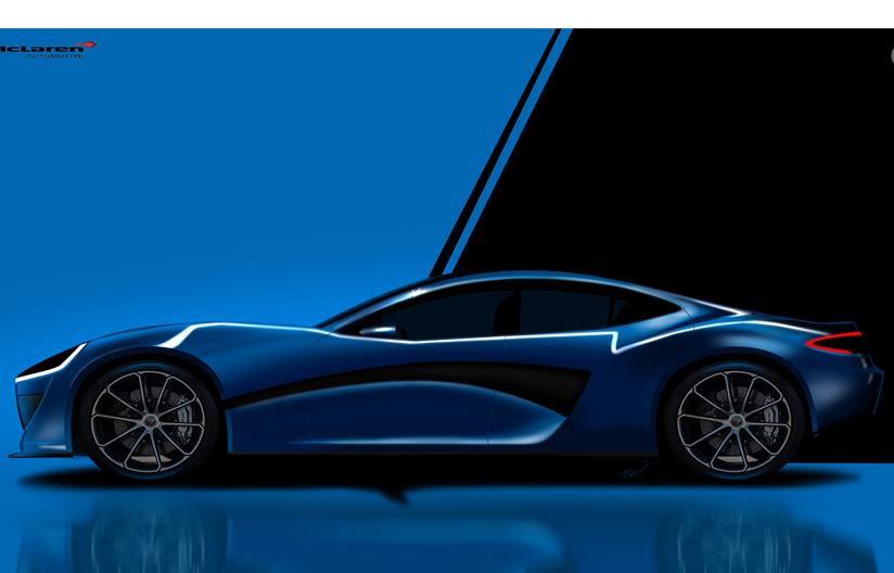 McLaren sedán eléctrico