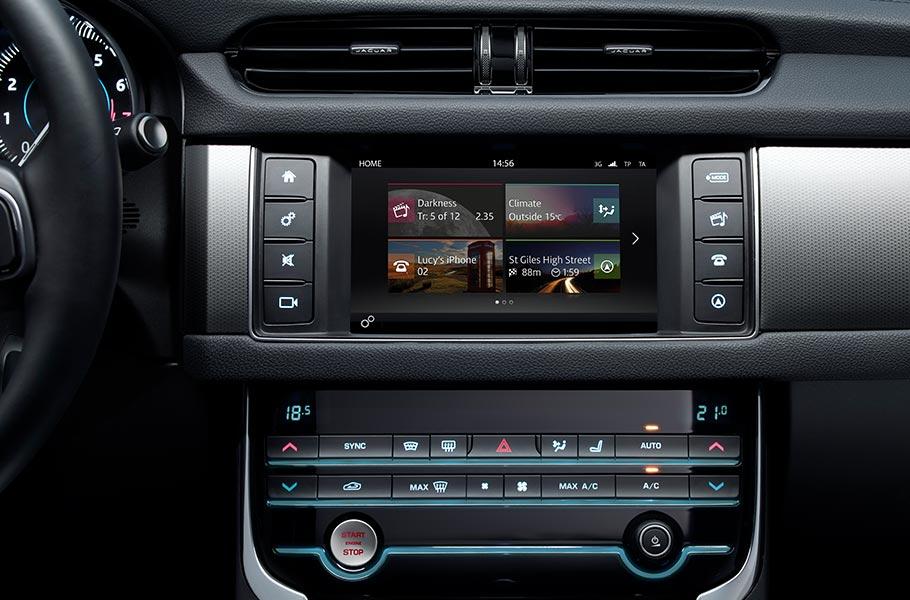 Sistema Touch del Jaguar XE