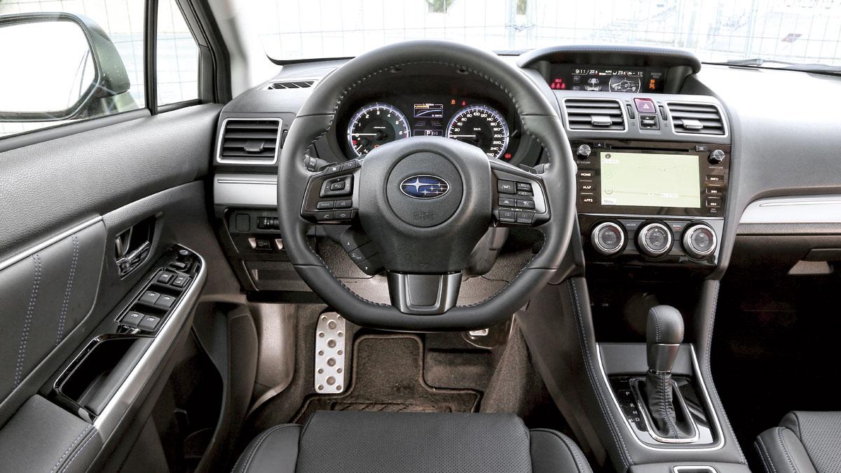 Prueba del Subaru Levorg