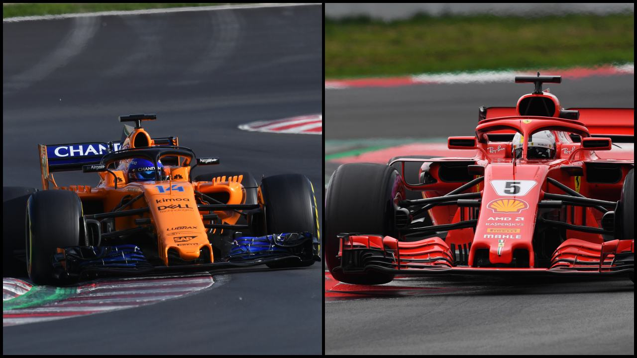 Resultado de imagen de Ferrari McLaren Fórmula 1