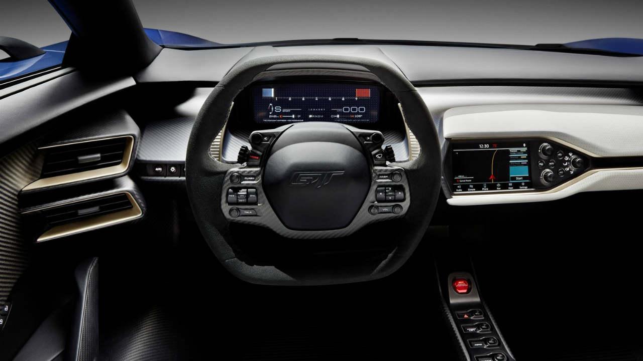 Tres datos sobre el interior del Ford GT -- Autobild.es
