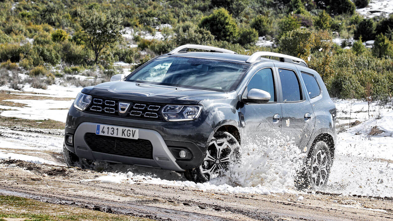 prueba del dacia duster tce 125cv prestige. Black Bedroom Furniture Sets. Home Design Ideas