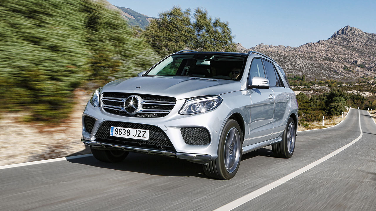 prueba del mercedes clase gle 350 d 4matic. Black Bedroom Furniture Sets. Home Design Ideas