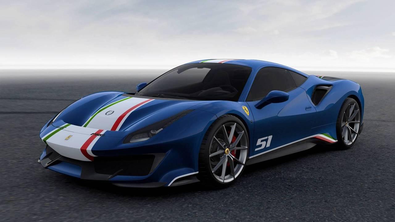 Todos Los Colores Disponibles Del Ferrari 488 Pista
