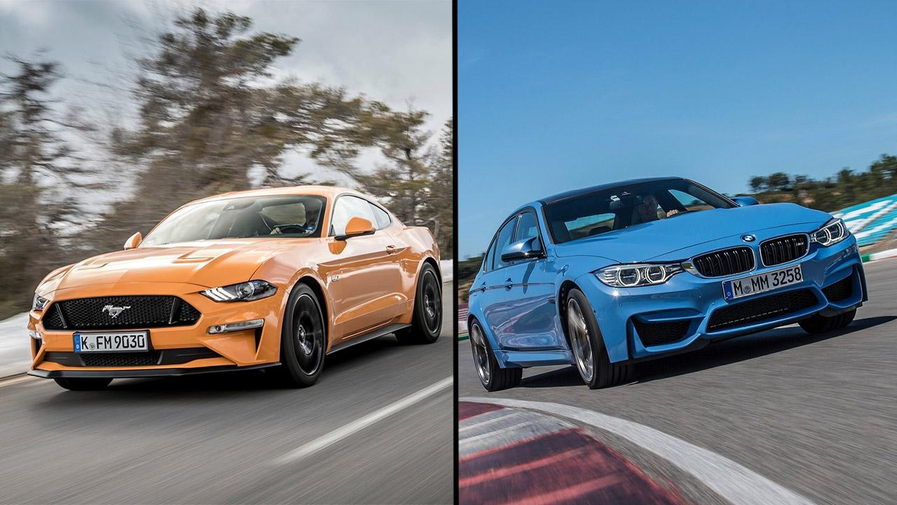 Cuál es mejor el ford mustang gt o el bmw m3 autobild es