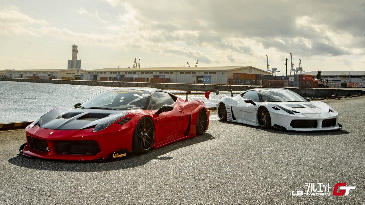Liberty Walk Ofrece Un Nuevo Kit Para El Ferrari 458 Italia Autobild Es