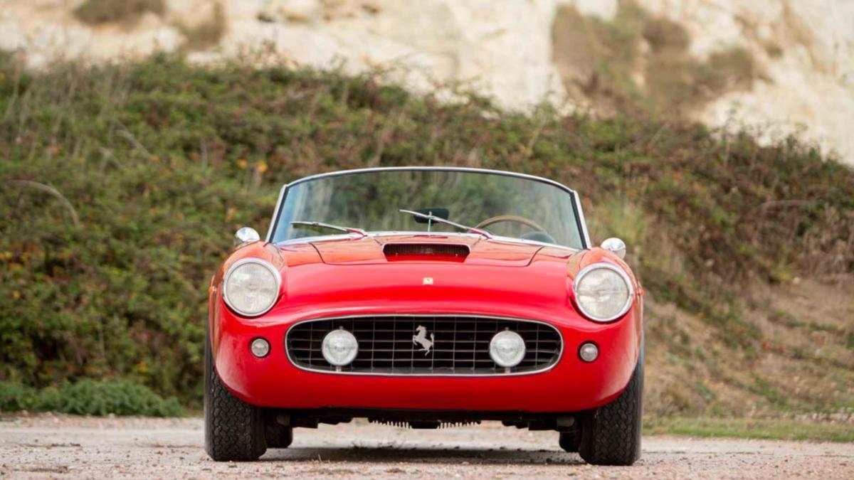 Un Ferrari 250 Gt California Spider A Subasta Autobild Es