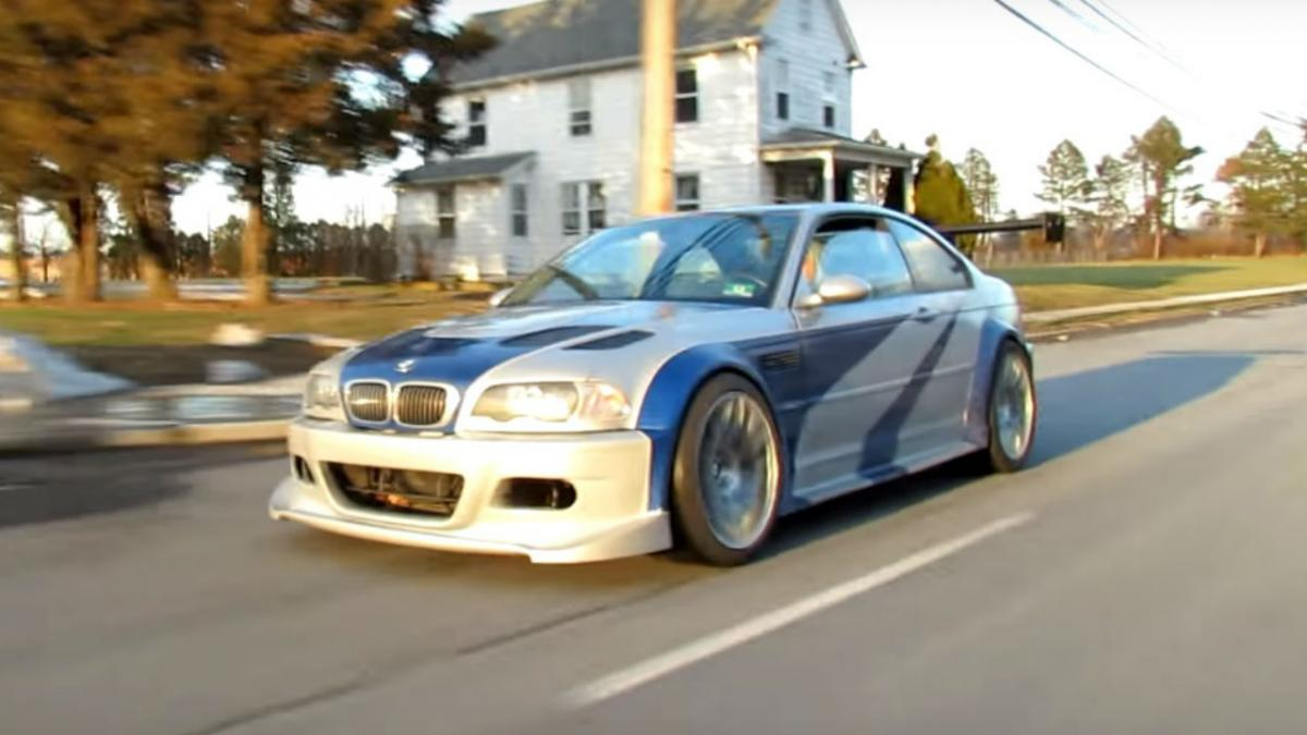 El Bmw M3 Gtr De Need For Speed Most Wanted Se Hace Real Autobild Es