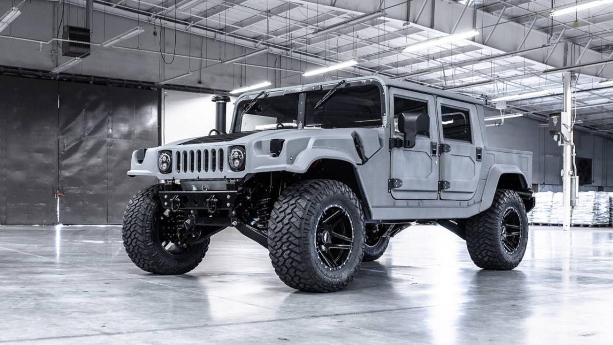 Ahora puedes tener un Hummer H1 de especificaciones ...