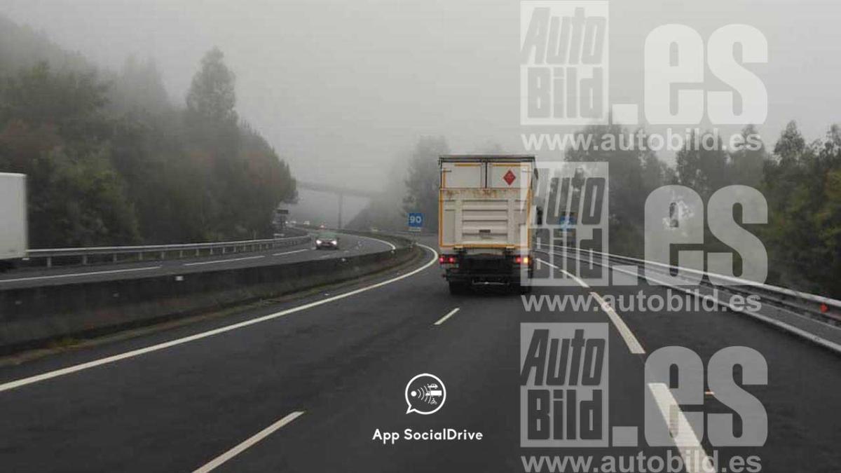 Las cuatro rutas de trabajo habituales del camión-radar de la Guardia Civil
