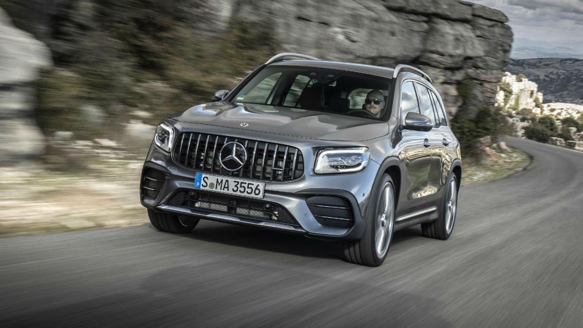 Ya a la venta el Mercedes-AMG GLB 35 4MATIC -- Autobild.es