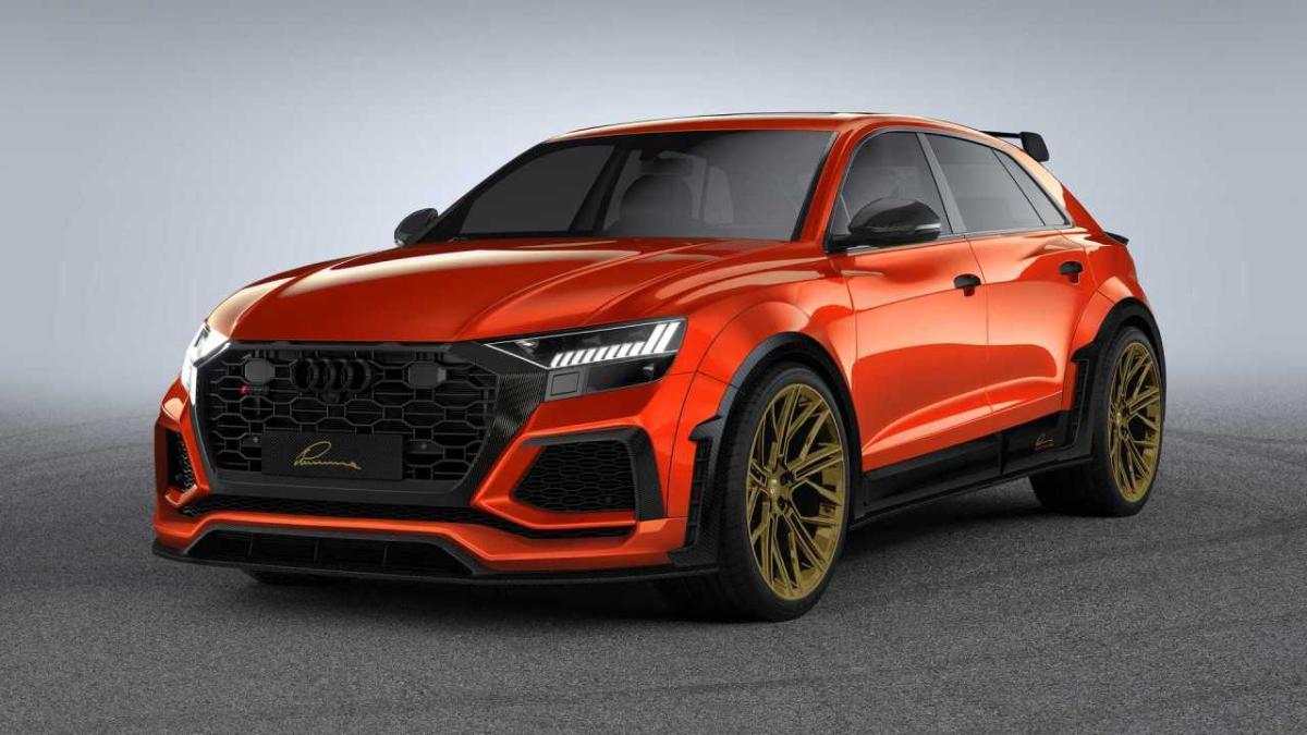 El Audi Rs Q8 De Lumma Es Mas Agresivo Y Potente Autobild Es