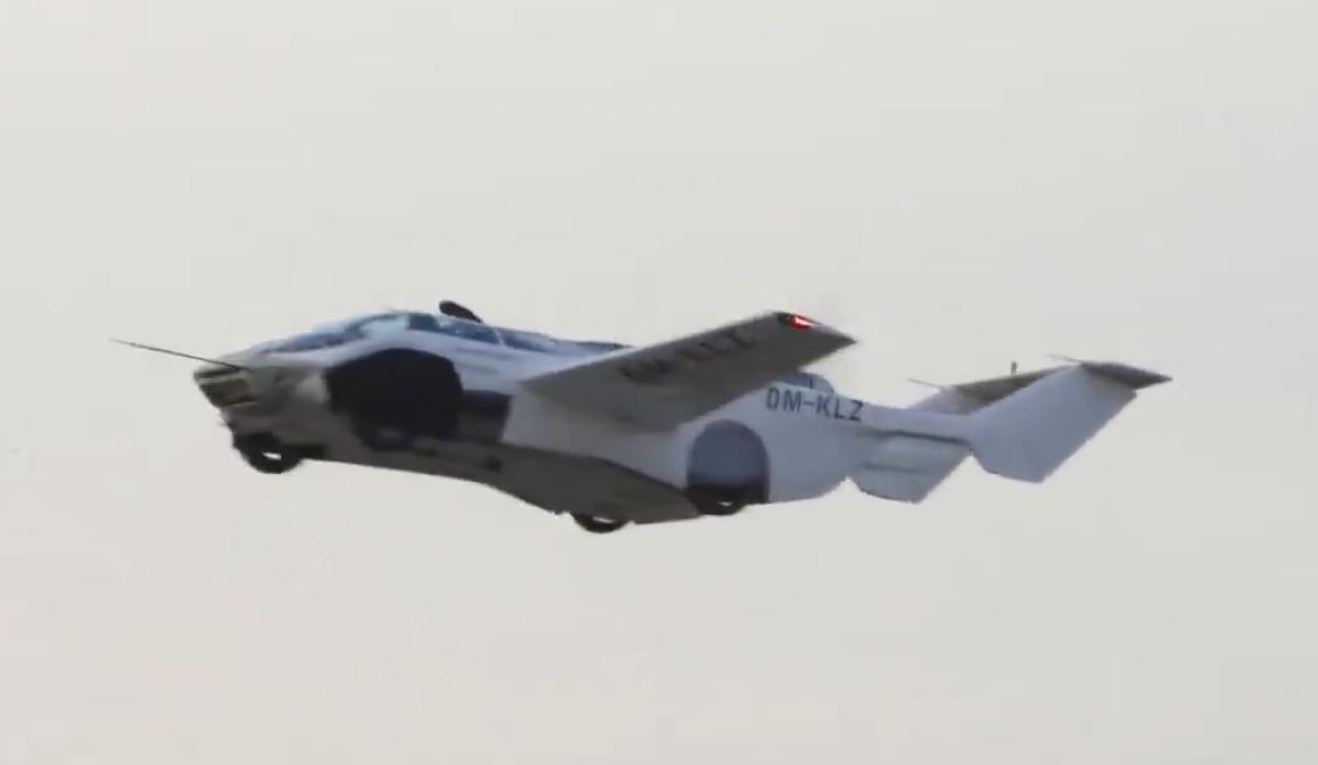AiRCAR: ¡por fin un VÍDEO de un coche volador que vuela realmente! --  Tecnología -- Autobild.es
