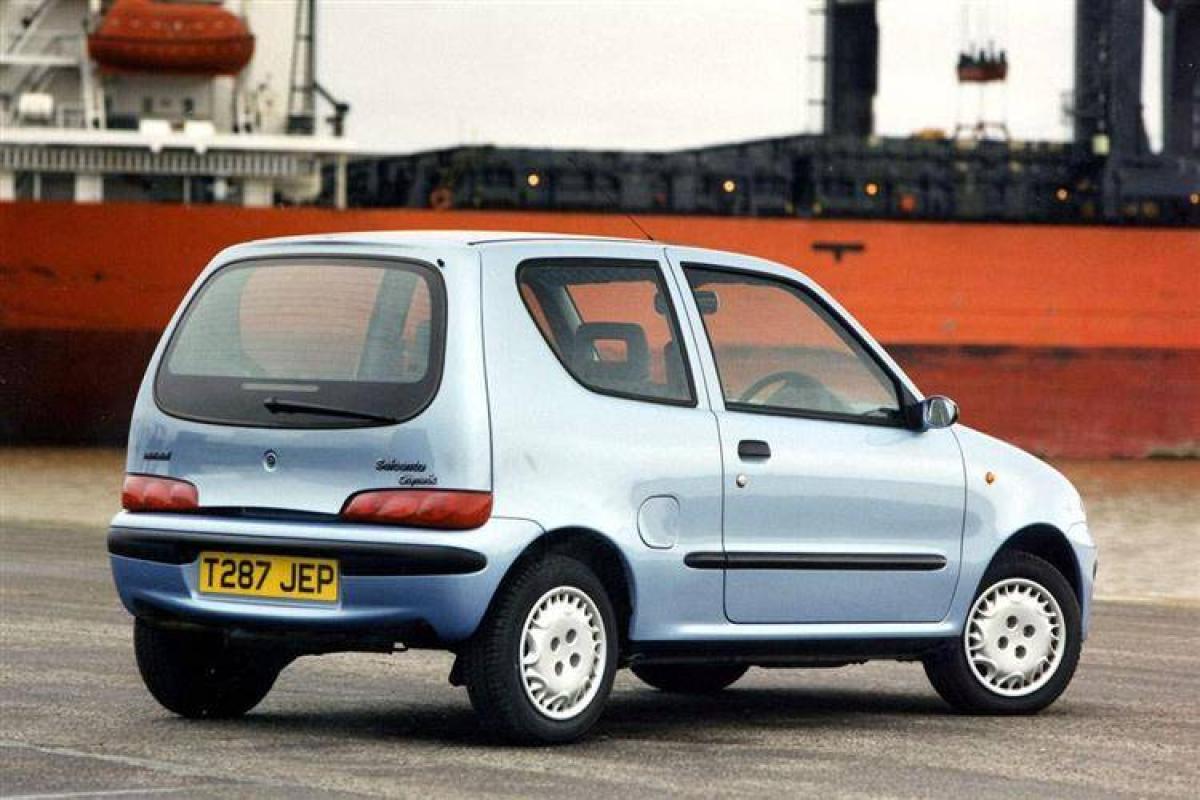 Compa Oldie  Fiat Seicento O Daewoo Matiz