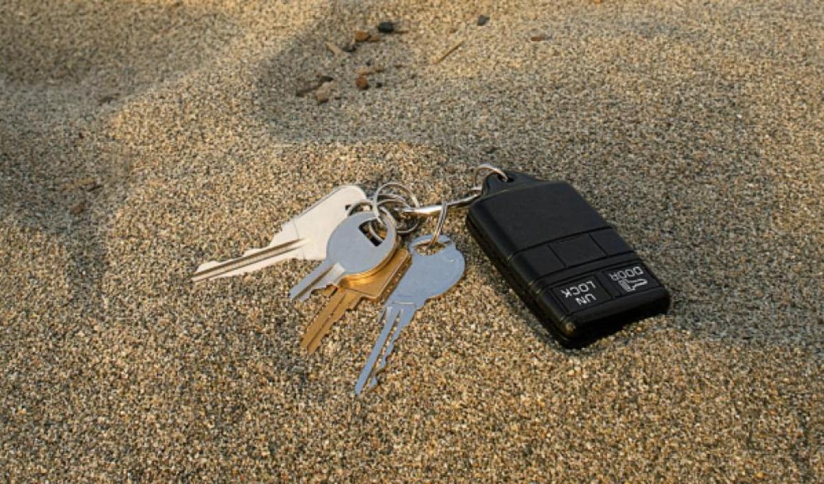 Lo que debes hacer si pierdes las llaves del coche
