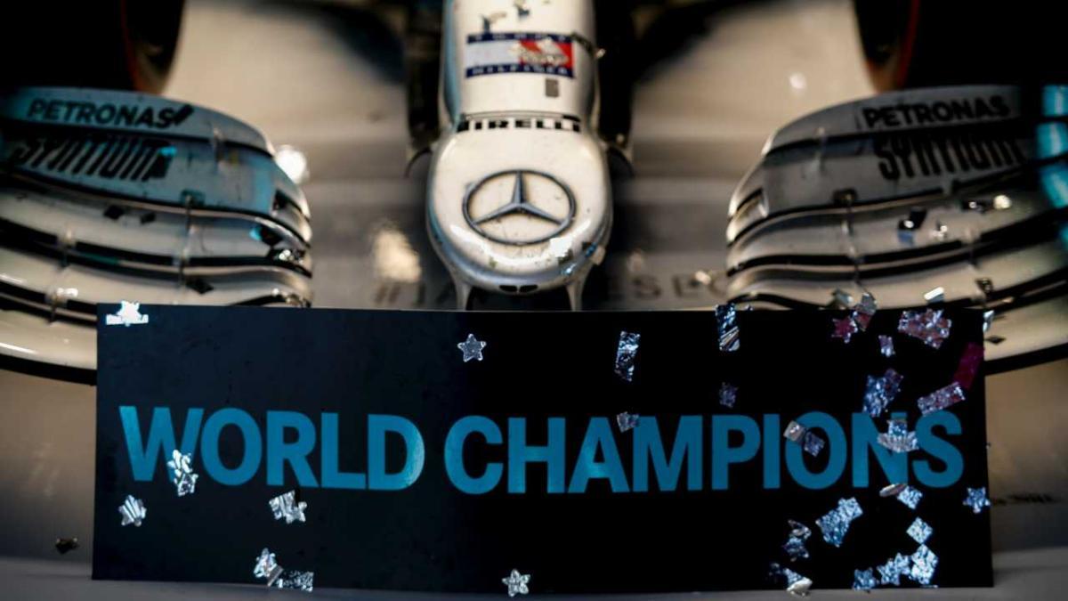 Mercedes agranda su leyenda en la F1 con su sexto campeonato