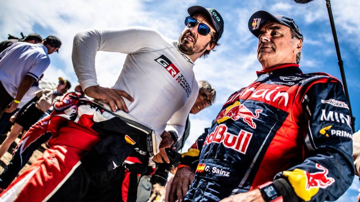 5 cosas que Alonso debe aprender de Sainz para el Dakar
