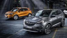 Opel Crossland y Grandland