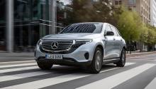 Prueba del Mercedes EQC